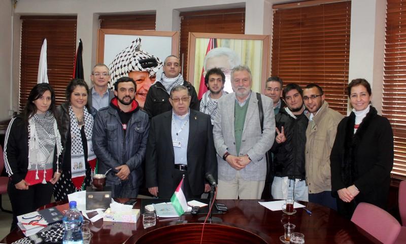 الشكعة يلتقي بوفد برلماني من الأرجنتين